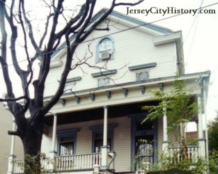 The Holden House is one of the many Underground Railroad historic sites in Jersey City.